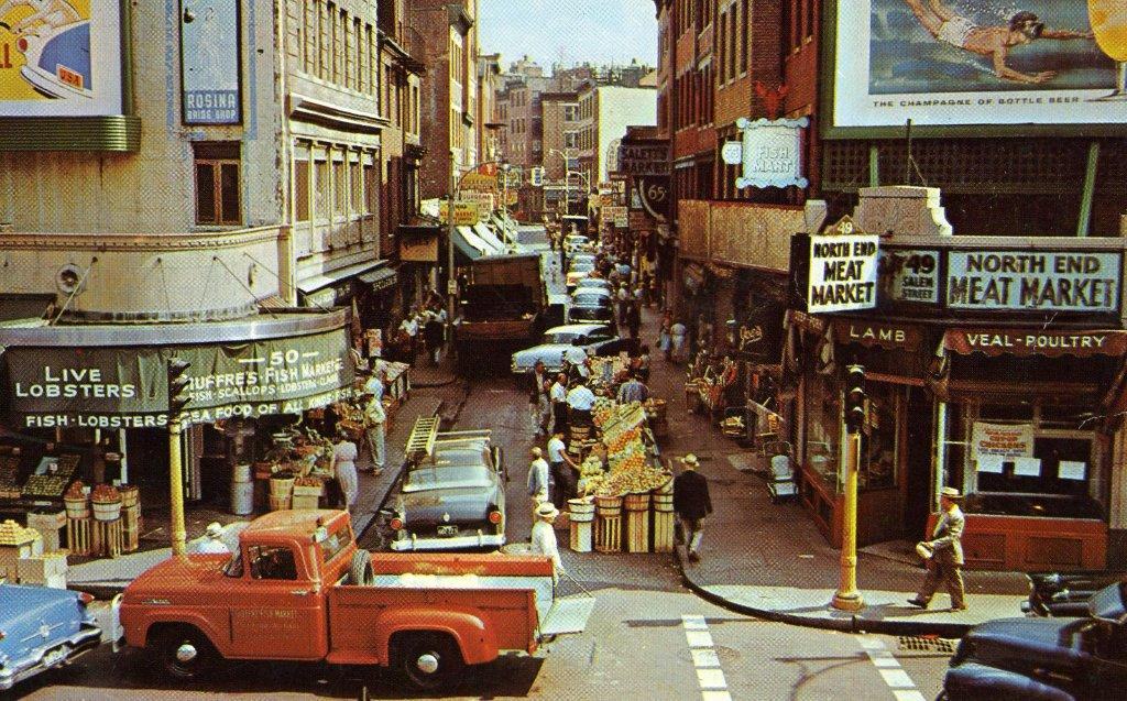 Boston's North End in the 1950s